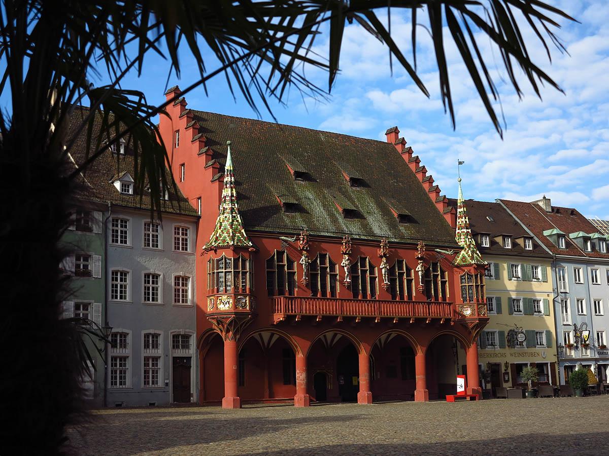 Blick auf das Historische Kaufhaus Freiburg