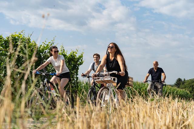 Fahrradtour in der Gruppe